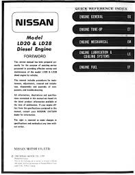 nissan ld20 ld28 manual page 0 001 huge sized version 1 1mib