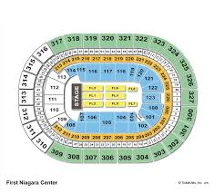 Keybank Seating Chart With Seat Numbers Keybank Center Seating Chart Seat Numbers