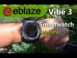 <b>Zeblaze Vibe 3</b> Smartwatch Review and Unboxing - YouTube