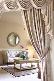 Valance Curtains For Living Room Custom Made Swag Valance Curtains The Fabric Is Gold Ivy