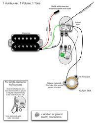 wiring diagram 2 humbucker 1 volume tone wiring diagram guitar pickup wiring diagrams at Guitar Wiring Diagram 2 Humbucker