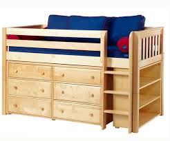 Maxtrix BOX2 LARGE1 low loft beds online bedroom furniture twin and full loft  bed white kid's