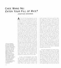 ng chee wang selected document a digital  chee wang ng eaten your fill of rice essay pg 1