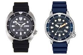 Bulova Watch Battery Replacement Chart Seiko Vs Citizen Watches Brand Overview Watch Comparison