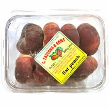 australian donut flat peach punnet