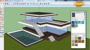 1 modern house design in free google sketchup 8 how to build a modern house in sketchup you