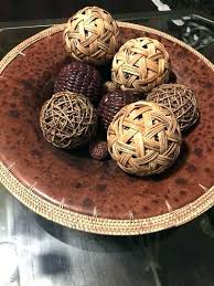 Decorative Ball Bowl Awesome Decorative Balls For Bowls Decorative Balls For Bowl Home Decor