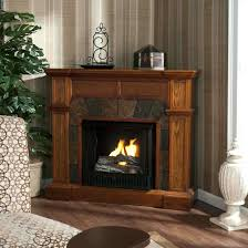 ... Full Image for Stand Stone Corner Gas Fireplace Ideas Latest Trends  White Electric Porch Living Room ...