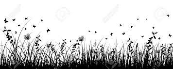 夏の草原の背景透明性とメッシュなし Eps 10 ベクトル イラスト