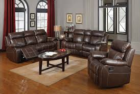 Motion Living Room Furniture Coaster Myleene Motion Living Room Set Chestnut 603021 Livset At