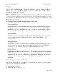 Resume Microsoft Office Skills Examples Templates Mac Free 2013 2010