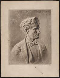 image of life mask of abraham lincoln library of congress photograph of h h zearing sculpture relief of abraham lincoln