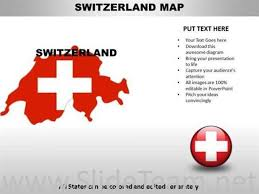Country Powerpoint Maps Switzerland Powerpoint Diagram