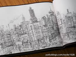 tekkon kinkreet art book background sketches 10