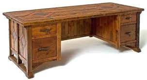 reclaimed wood office furniture. rustic wood desk reclaimed office furniture