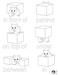 dd370ff685fd37344859e375c7bdbcc5 positional words kendergarten pictures positions ideas for on identifying prepositional phrases worksheet