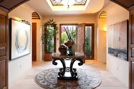 round entry table entry hall table with mirror