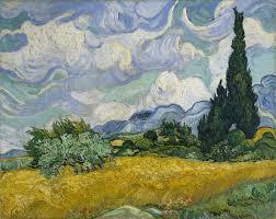 vincent van gogh the drawings essay heilbrunn wheat field cypresses