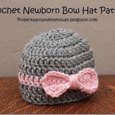Newborn Baby Hat Crochet Pattern