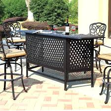 Outdoor patio bar sets kmart ideas pub tables and chairs with for patios cozy 1499x