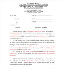 Agreement Form Doc Stunning Divorce Settlement Agreement Template Free AnitarachVelishvili