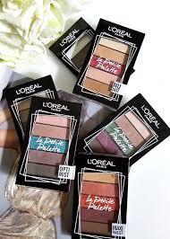 l oréal paris la eyeshadow palette feminist review swatches madame keke luxury beauty 1 beauty madame keke