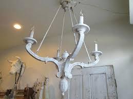 marvelous white distressed chandelier french farmhouse wooden chandelier lighting lg blue white distressed white chandelier white