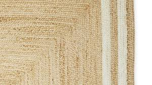 extraordinary jute rug with border of square serena lily