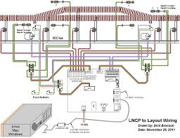dcc layout wiring car wiring diagram download tinyuniverse co Dcc Bus Wiring Diagrams wiring diagrams dcc layout wiring general layout wiring using a lncp (loconet control point Wiring Diagram for NCE DCC