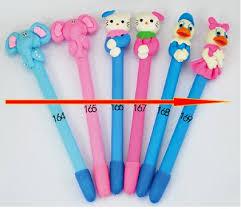 New <b>High quality</b> 20pcs/Style <b>Polymer clay</b> gift pen elephant ...