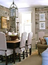 liking the diningroom chair covers design living room dining room design slip covered dining