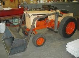 case garden tractor. Case 195 Garden Tractor Loader_3 O