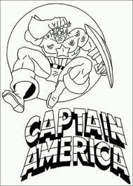 7 Beste Afbeeldingen Van Captain America In 2016 Kleurplaten