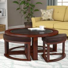 find the best why choosing round coffee table with stools for 2018