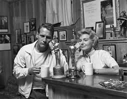 Paul Newman and Joanne Woodward, 1958 | Sid Avery