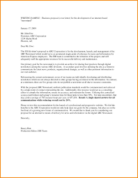 Business Partnership Proposal Letter Template | Best And ...