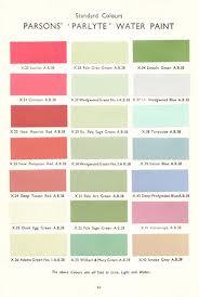 Snowcem Colour Chart Water Paint Patrick Baty Historical Paint Consultant
