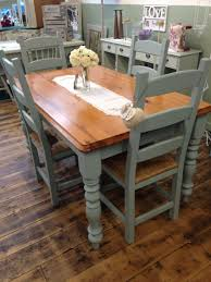 Painted Kitchen Table Painted Kitchen Table And Chairs Color Combo For Dining Room Gray