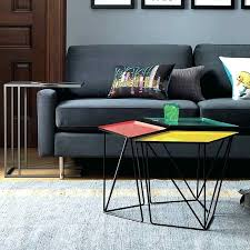 hexagonal coffee table ideas copper
