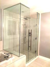 showers shower door glass types showers frosted plus 3 8 in x 1 2 medium