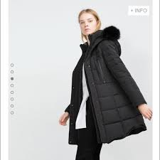 10% off Zara Jackets & Blazers - Long Quilted Coat with Detachable ... & Long Quilted Coat with Detachable Faux Fur Adamdwight.com