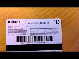 fake itunes gift card numbers