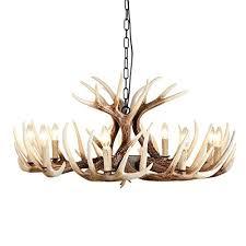 deer horn antler chandelier 9lt