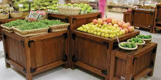 Produce Display Stands