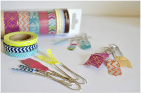 arty s getaway diy 5 minutes crafts fun and pretty washi tapes bookmarks