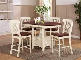 mccall dark cherry ermilk counter height table set