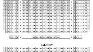 Kaye Playhouse Seating Chart Kay Theatre Yollay