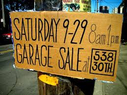 Make A For Sale Sign Garage Sale Signs What Not To Do And How To Drive Traffic To