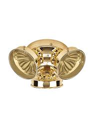 16150b 02three light ceiling fan light kitpolished brass pertaining to light kits for ceiling fans