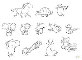 Animal Printable Coloring Pages Animals Coloring Page Free Printable